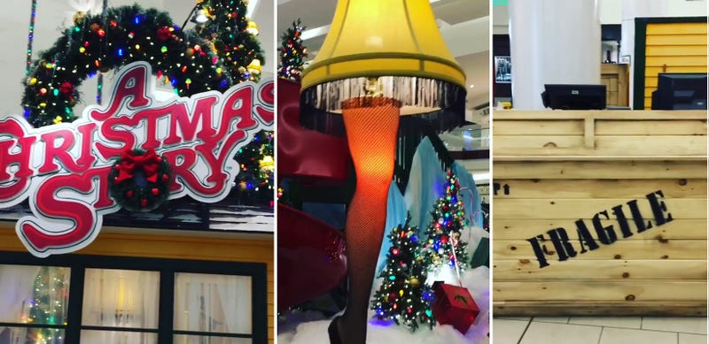 A New Jersey Mall Built an Amazing A Christmas Story Display for Santa  Photos - A New Jersey Mall Built An Amazing A Christmas Story Display For