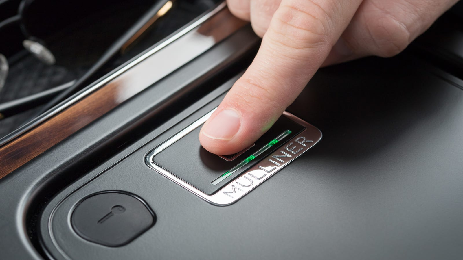 The Bentley Bentayga's Fingerprint Security Box Doesn't Look Like It Fits Anything