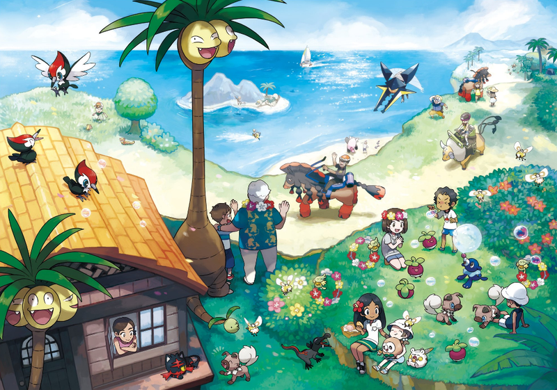 Illustration for article titled PokémonSun And Moon Leak May Reveal Starters' Evolutions [UPDATE]