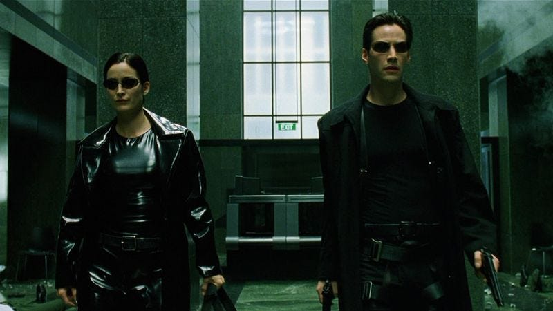 A quiet scene from The Matrix demonstrates how to make exposition compelling