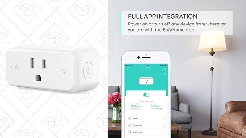 Mini enchufe inteligente Eufy | $18 | Amazon | Usa el código DGY8TLE6