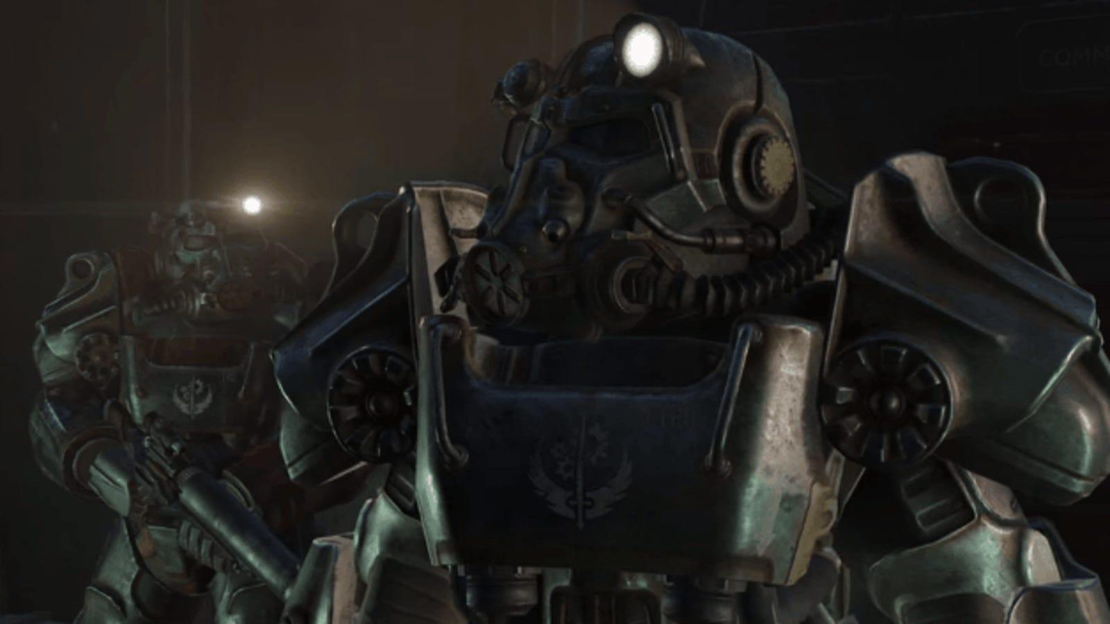 """Consigue la """"servoarmadura"""" (power armor) en Fallout 4 en menos de 5 minutos"""