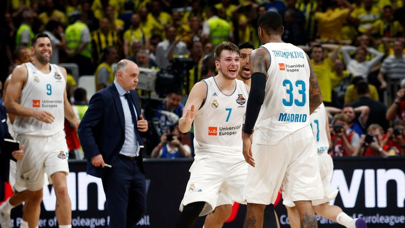 Illustration for article titled Luka Doncic Wraps Historic Season With EuroLeague Title, MVP, And Final Four MVP