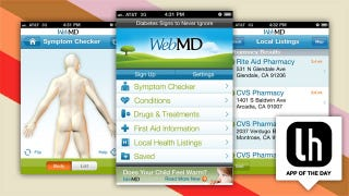 Illustration for article titled WebMD for iPhone and Android Is a Dynamic Mobile Health Compendium