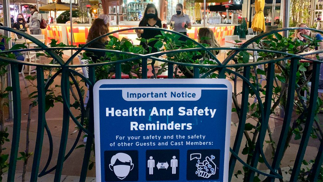 Disneyland Will Become a Covid-19 Vaccination Site