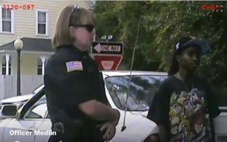 The Oct. 2, 2014, stop of Elijah Pontoon and Lakey Hicksin Aiken, S.C.Video screenshot