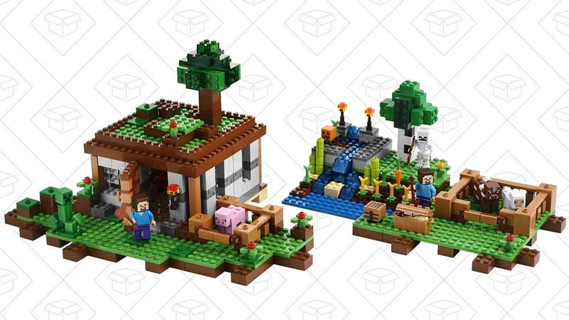 LEGO Minecraft Crafting Box, $34