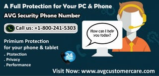 AVG Support Phone Number 1-800-241-5303