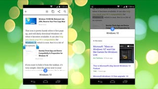 Illustration for article titled Chrome for Android Can Instantly Search Any Text You Highlight on Google