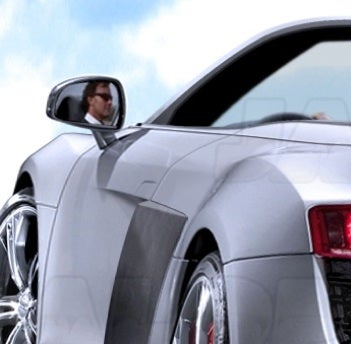 Illustration for article titled 2010 Audi R8 Spyder Speculatively Drops Its Rendered Top