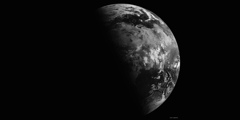 Illustration for article titled Here's What Earth Looks Like From Space On The Summer Solstice