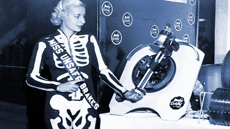 Illustration for article titled Miss Unsafe Brakes 1939 Looks A Little Anorexic There
