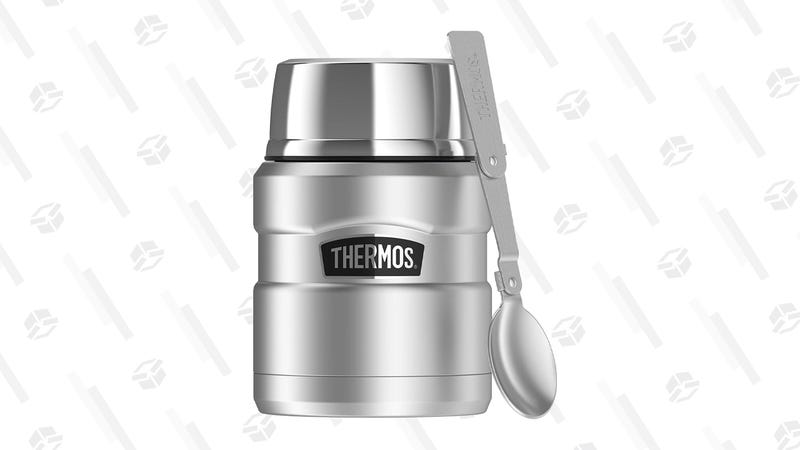 Thermos Stainless King 16 Ounce Food Jar with Folding Spoon | $16 | Amazon