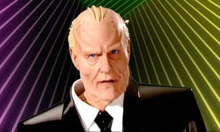 Illustration for article titled Max Headroom Returns, Looks Fugly
