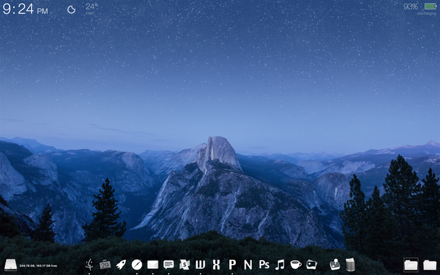 The Glacier Point Desktop