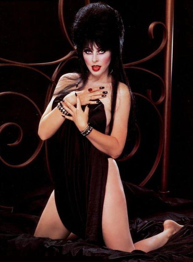 Эльвира повелительница тьмы порно анал