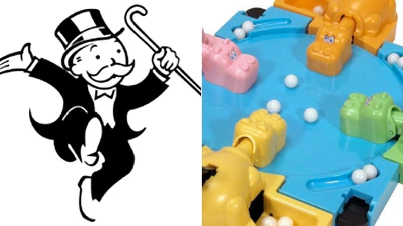 Illustration for article titled Monopoly and Hungry Hungry Hippos Movies in the Works Because Hollywood Is out of Ideas