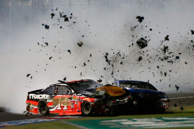 An accurate metaphor for what happened to the NASCAR Sprint All-Star Race format. Photo credit: Brian Lawdermilk/Stringer/Getty Images