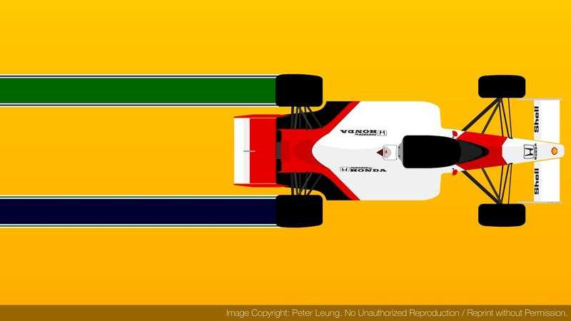 Illustration for article titled Remembering Senna Today