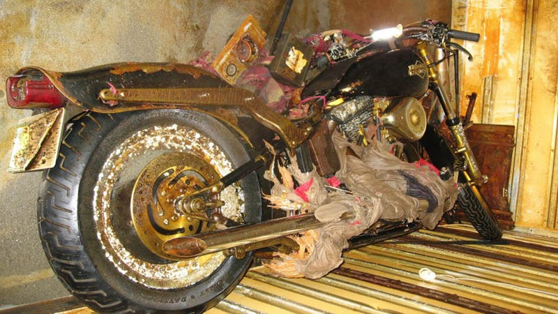 Illustration for article titled Harley Davidson Lost In Japan Tsunami Washes Up in Canada Fully Intact