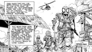 Illustration for article titled What if Spider-Man fought in Vietnam?