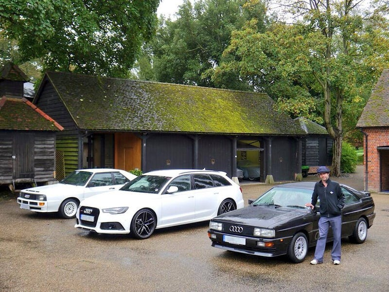 Illustration for article titled Jay Kay from Jamiroquai loves his Audis