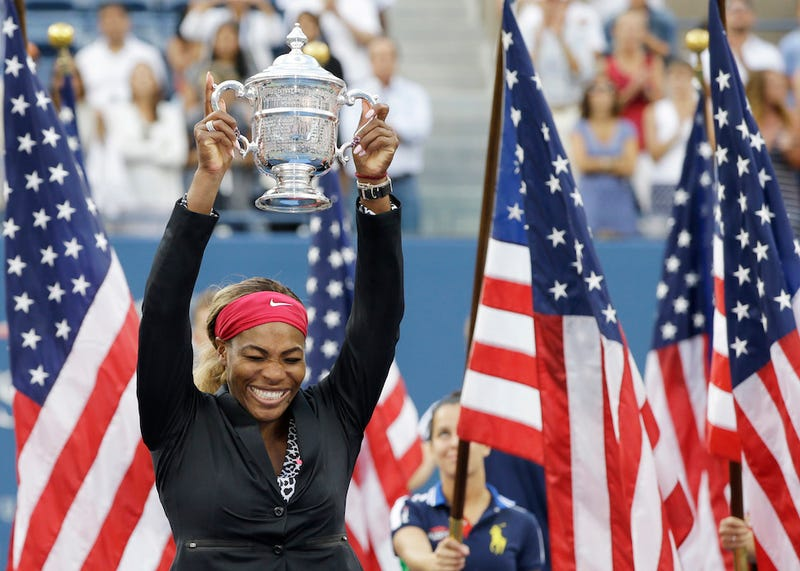 Illustration for article titled Metahuman Serena Williams Dominates US Open, Wins 18th Grand Slam