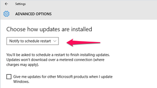Illustration for article titled Prevent Windows 10 from Automatically Restarting Your PC After Updating
