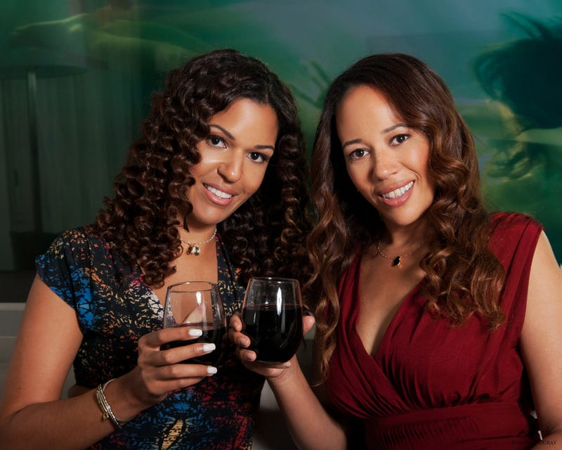 Sisters Andréa and Robin McBride of Truvée Wines grew up 7,000 miles apart.Truvée Wines