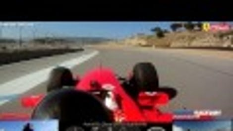 This Ferrari F1 Car Vaporized The Road Atlanta Lap Record Into Another Dimension