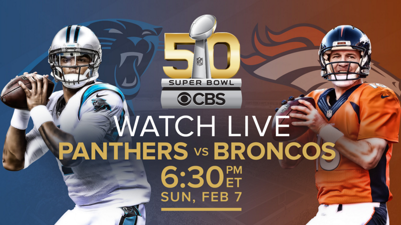 Illustration for article titled How to Watch Super Bowl 50 Streaming Online for Free, No Cable Required