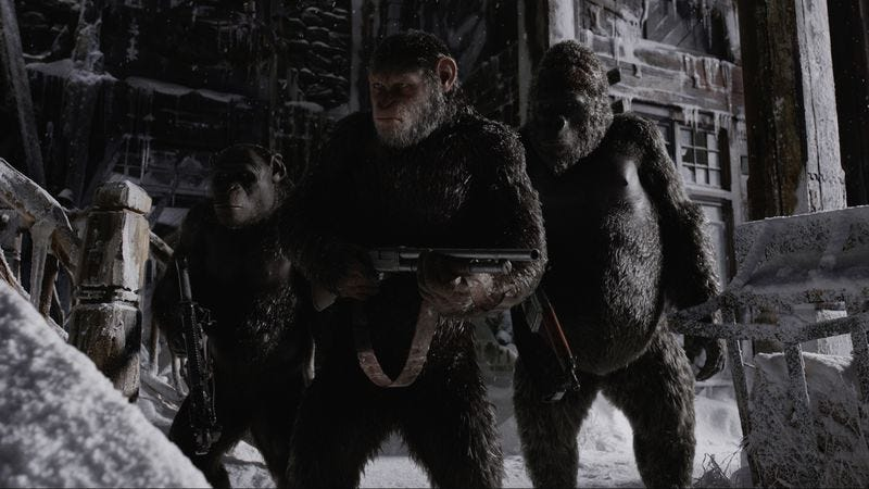War For The Planet Of The Apes (Photo: 20th Century Fox)