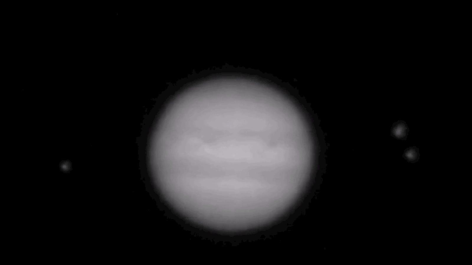 Algo impactó con mucha fuerza contra Júpiter hace unos días