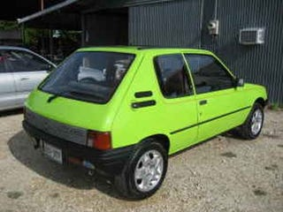Illustration for article titled Yo, Biodiesel Wannabes! Forget The Benz- Get This Peugeot 205 XRD!