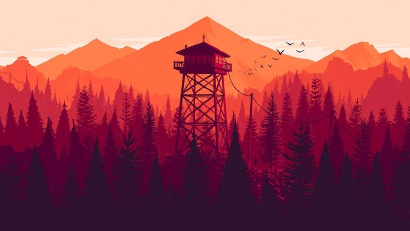 Illustration for article titled Ford Dealership Takes Firewatch Art To Advertise Sale [UPDATE]