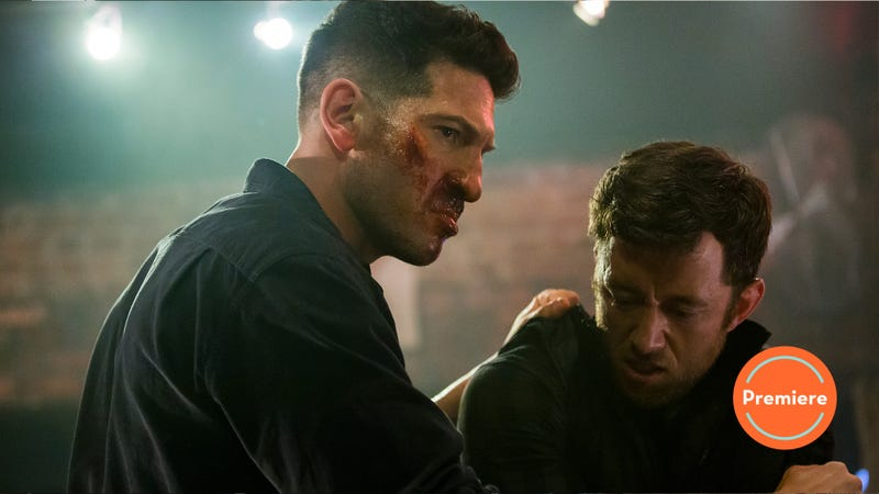 Illustration for article titled The Punisher's second season kicks off with some kiss kiss, bang bang