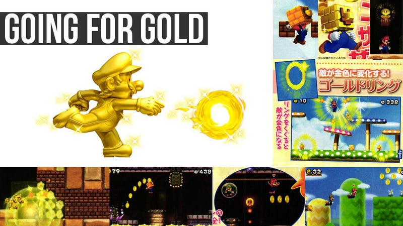 Illustration for article titled New Super Mario Bros. 2 Features The Midas Touch And Co-op Play
