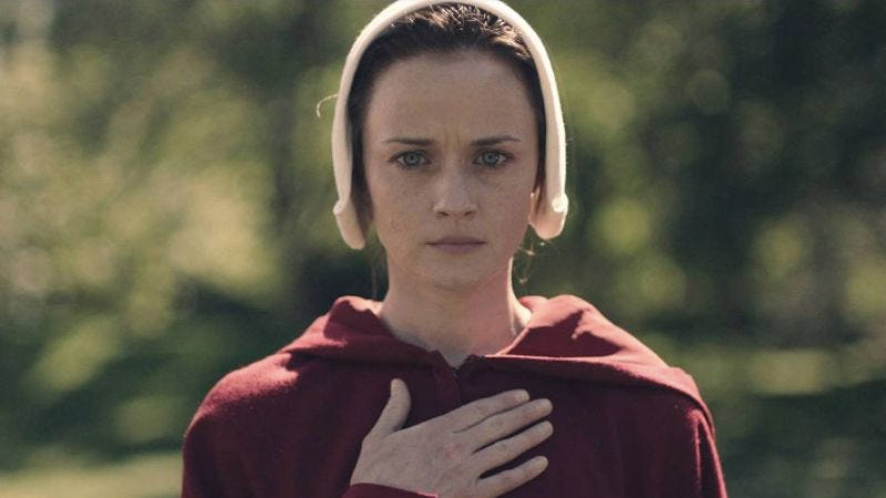 Illustration for article titled Alexis Bledel, a.k.a. Rory Gilmore, joins The Handmaid's Tale