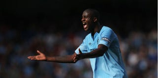Yaya Touré of Manchester City (Clive Brunskill/Getty Images)