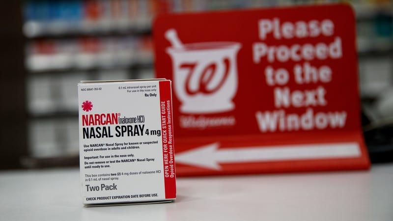 Naloxone nasal spray can reverse opioid overdoses.