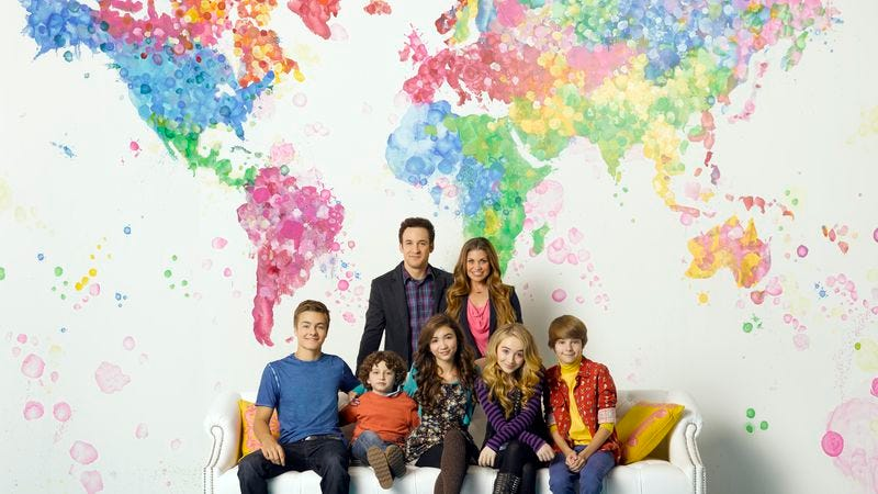 """Illustration for article titled Girl Meets World theme song features more words than """"Girl Meets World"""" for some reason"""