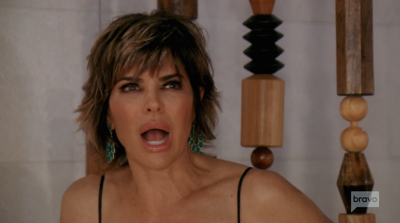 does lisa rinna realize she s on a reality tv show