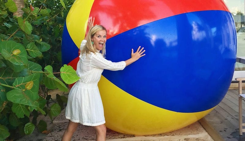 Illustration for article titled Reese Witherspoon Has a Giant Ball