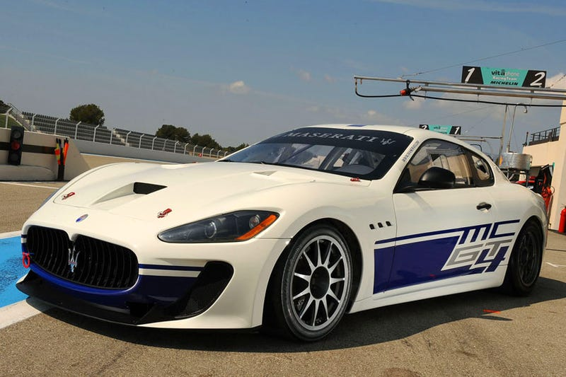 Illustration for article titled Maserati GranTurismo MC: A Trident To The Heart Of GT4