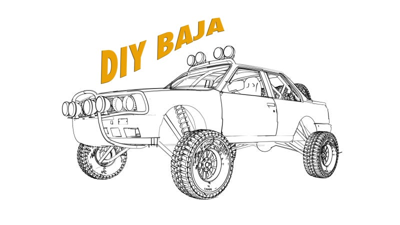 Illustration for article titled DIY BAJA: How We Built The Baja Pig!