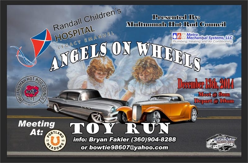Illustration for article titled Randall's Children Hospital Toy Run - This Saturday