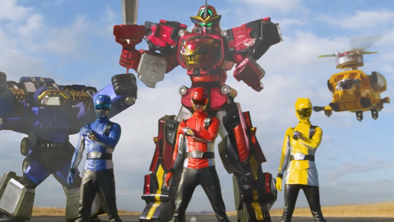 Say hello to a new generation of Rangers in Beast Morphers.