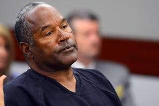 O.J. Simpson at Clark County District Court May 17, 2013, in Las VegasEthan Miller/Getty Images
