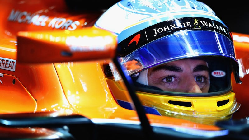 Fernando Alonso at the Formula One Japanese Grand Prix. Photo credit: Lars Baron/Getty Images