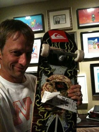 Illustration for article titled Tony Hawk To Vert at GamesCom